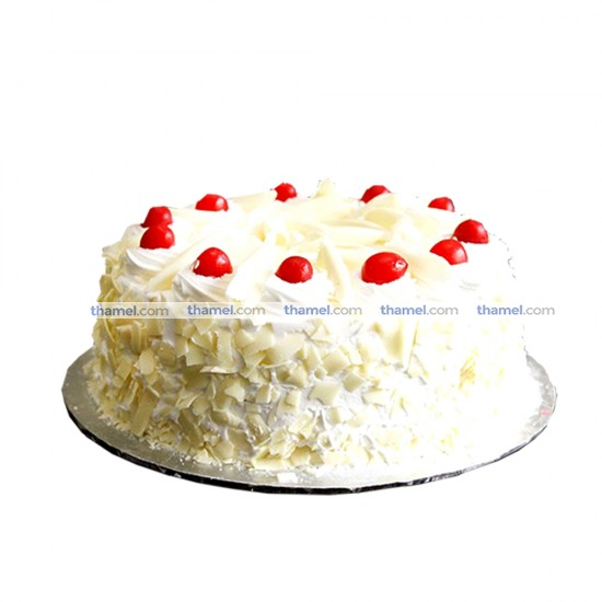 White Forest Cake - 2 lbs.